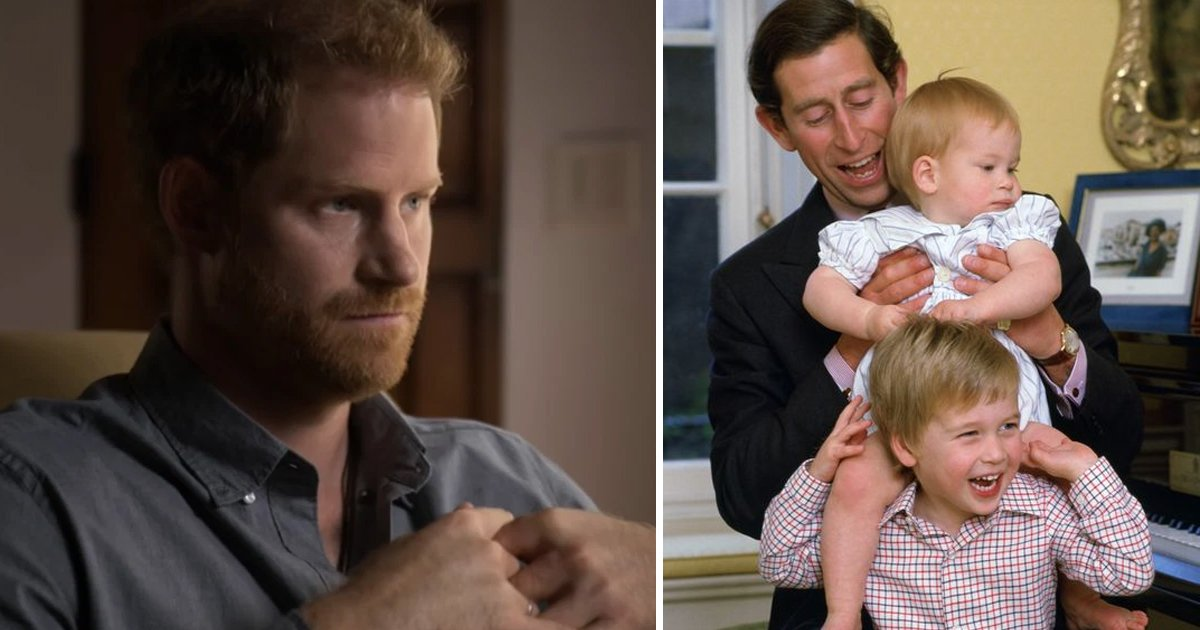 t5 21.jpg?resize=1200,630 - Prince Harry TRASHES His Dad Charles Over Traumatic 'Suffering' During His Childhood