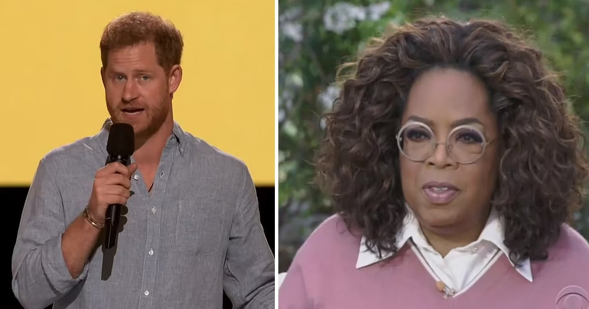t6 13.jpg?resize=1200,630 - Prince Harry Launches Mental Health Series With Oprah While Warning Majority Suffer From Some Form of Unresolved Trauma, Loss Or Grief