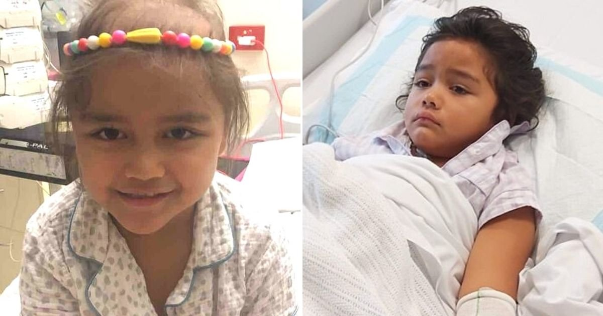untitled design 18.jpg?resize=1200,630 - 5-Year-Old Girl Left Fighting For Her Life After 'Tiny, Harmless' Lump Turns Out To Be An Aggressive Form Of Cancer