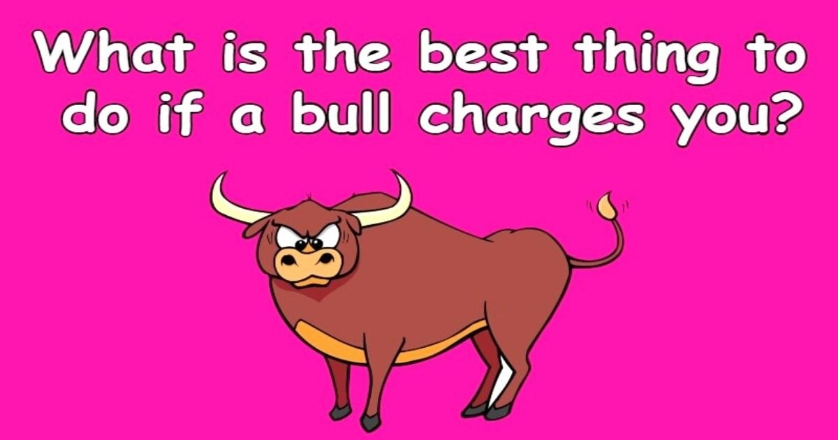 untitled design 3 5.jpg?resize=1200,630 - Do You Have What It Takes To Solve This Viral Riddle About A 'Charging' Bull