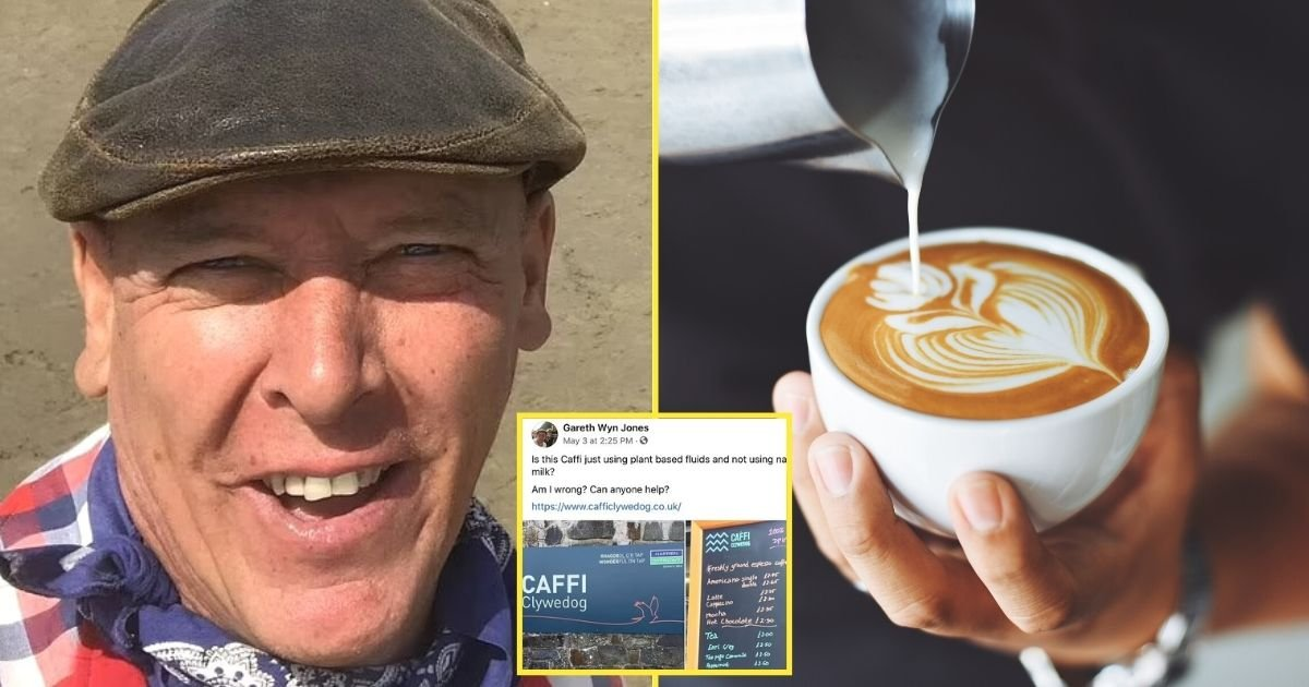 untitled design 5 2.jpg?resize=412,232 - Man Receives Death Threats After Asking Café If They Sell Milk