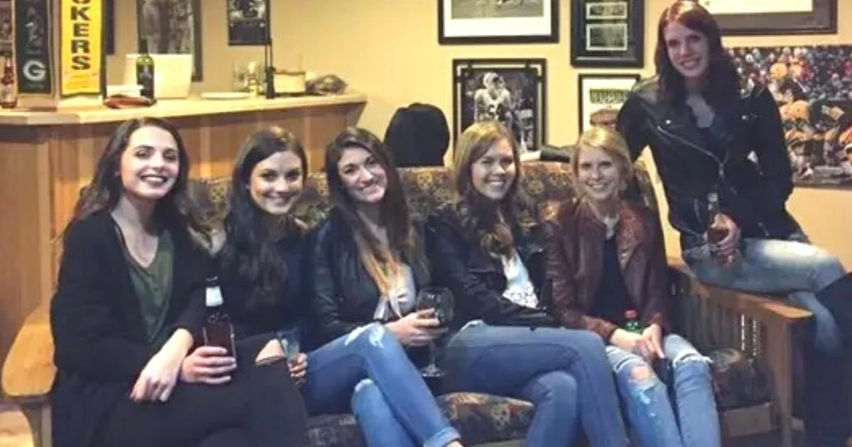 untitled design 8.jpg?resize=1200,630 - Can You Find Out What's Wrong With This Viral Picture Of Six Girls Sitting On A Sofa