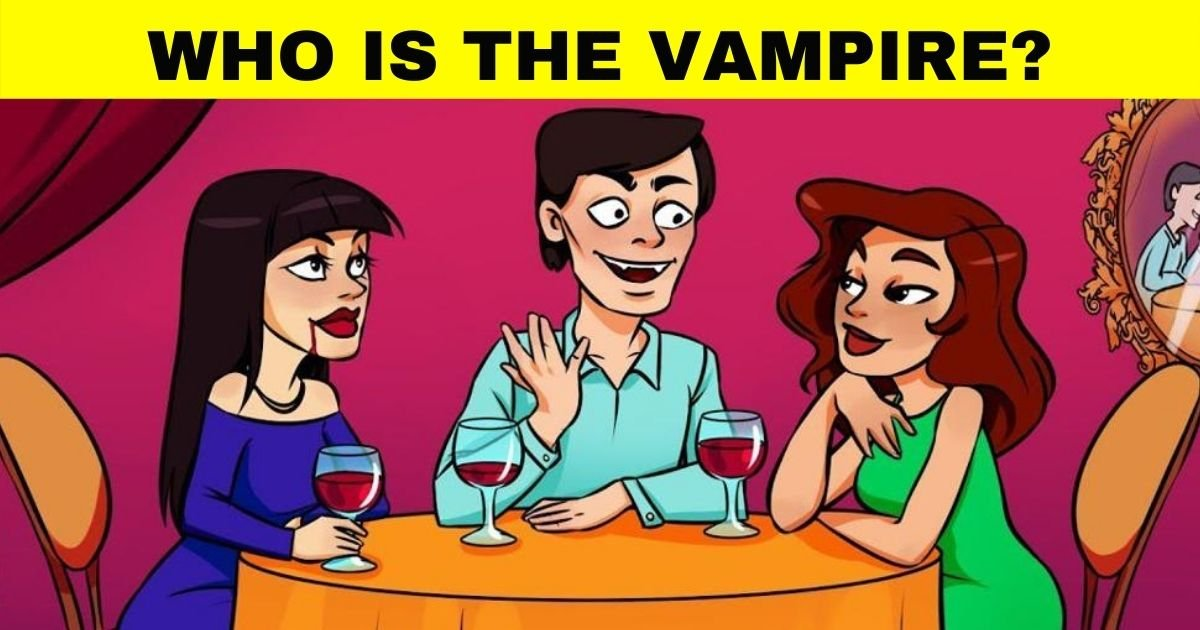 vampire3.jpg?resize=1200,630 - How Fast Can You Figure Out Who Is The Real Vampire?