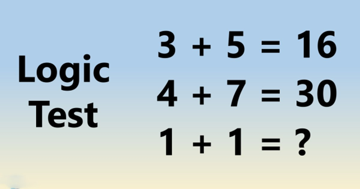 w1 15.jpg?resize=1200,630 - 90% Viewers Can't Figure Out The Answer To This Logic Test! Can You?