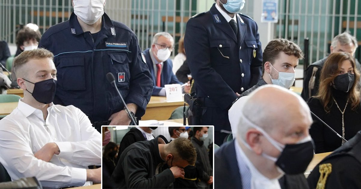 w3 11.jpg?resize=1200,630 - American Students Found GUILTY Of Stabbing Italian Police Officer '11 Times' Sentenced To Life In Prison