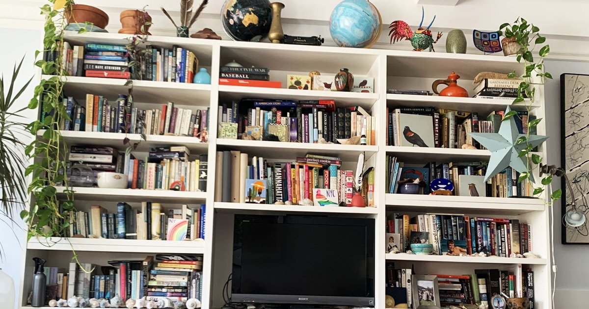 w3 14.jpg?resize=412,275 - How Fast Can You Spot The Cat On The Bookshelves?