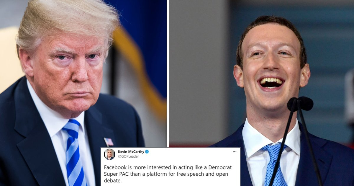 w4 9.jpg?resize=1200,630 - Trump SLAMS Zuckerberg's BAN On His Accounts As 'Total Disgrace' & Breach On His Free Speech