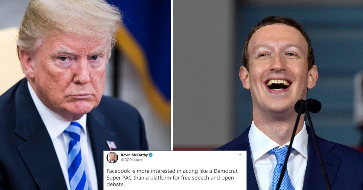 w4 9.jpg?resize=412,232 - Trump SLAMS Zuckerberg's BAN On His Accounts As 'Total Disgrace' & Breach On His Free Speech