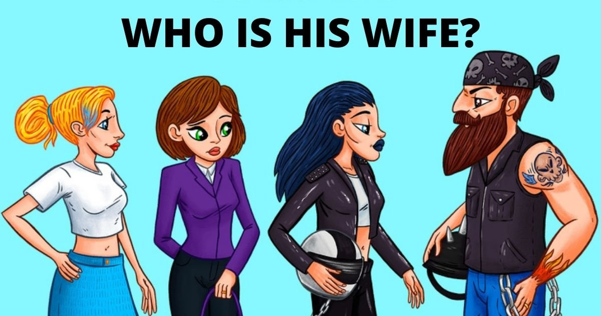 wife3.jpg?resize=1200,630 - How Fast Can You Figure Out Who The Wife Is?