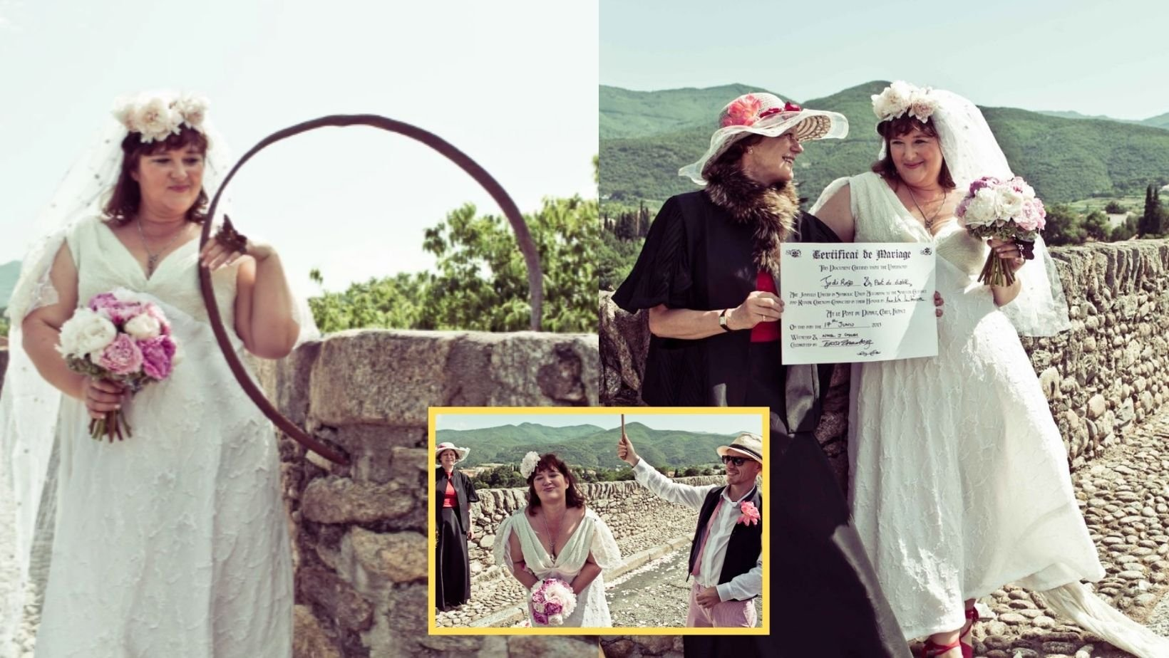 1 47.jpg?resize=1200,630 - Woman Who Fell In Love & Married A BRIDGE Celebrates 8th Wedding Anniversary This Year