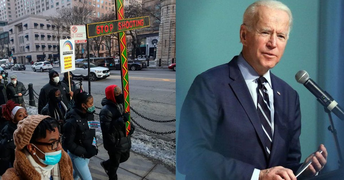 biden 9.png?resize=412,232 - President Joe Biden CRACKS Down On Gun Violence Laws After Crime Rates Arise Throughout The Nation
