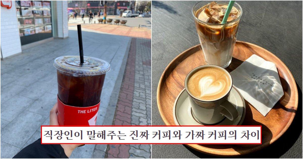 collage 103.png?resize=1200,630 - 직장인들이 말하는 진짜커피와 가짜 커피의 차이와 구별법