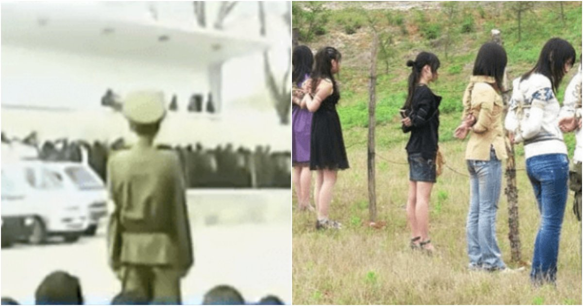 collage 130.png?resize=1200,630 - 탈북자가 목숨 걸고 죽을 각오로 찍었다는 북한 인민재판 소름돋는 장면