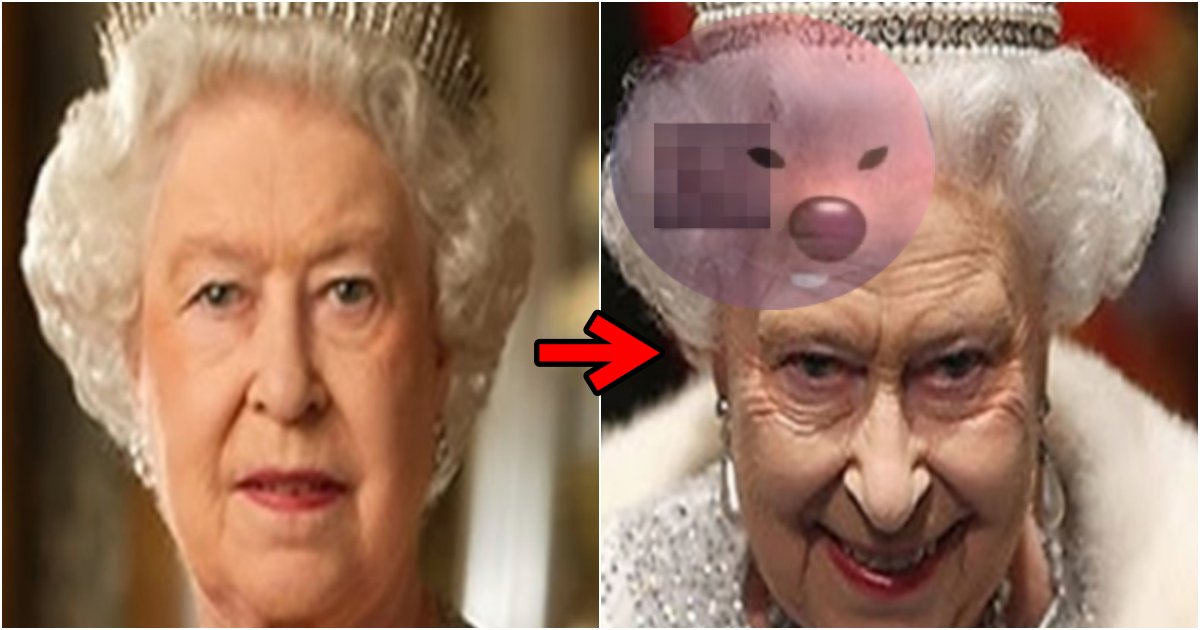 collage 385.png?resize=1200,630 - 인자하기로 유명한 영국 여왕을 '루피 군침' 표정으로 바꾸어버린 한국 음식의 정체