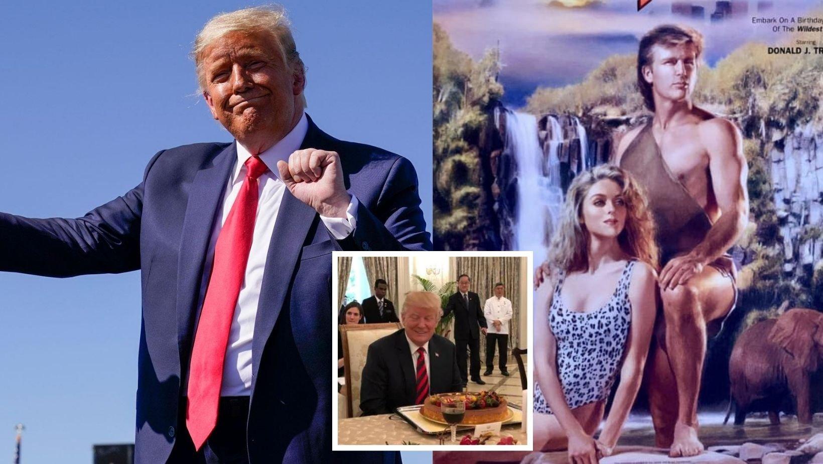 cover 13.jpg?resize=412,275 - From Tarzan To Renaissance Man: 7 Bizarre Ways Donald Trump Celebrated His Birthday