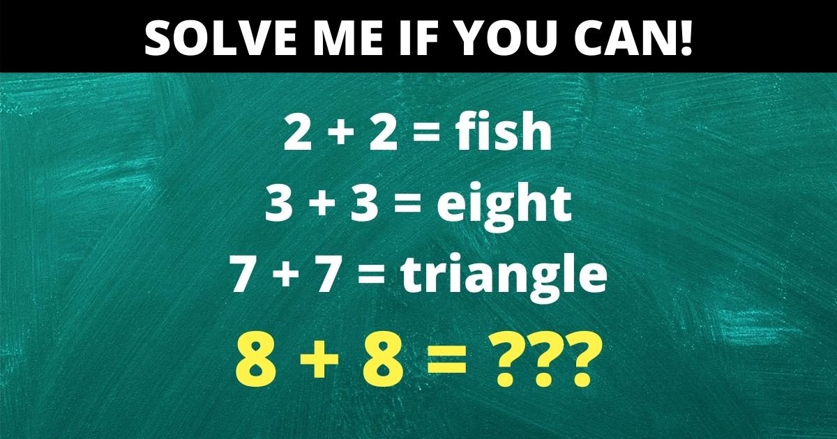 credit vonvon 4.jpg?resize=412,232 - Can You Decipher This High IQ Puzzle? Only 1% Of People Will Pass The Test!