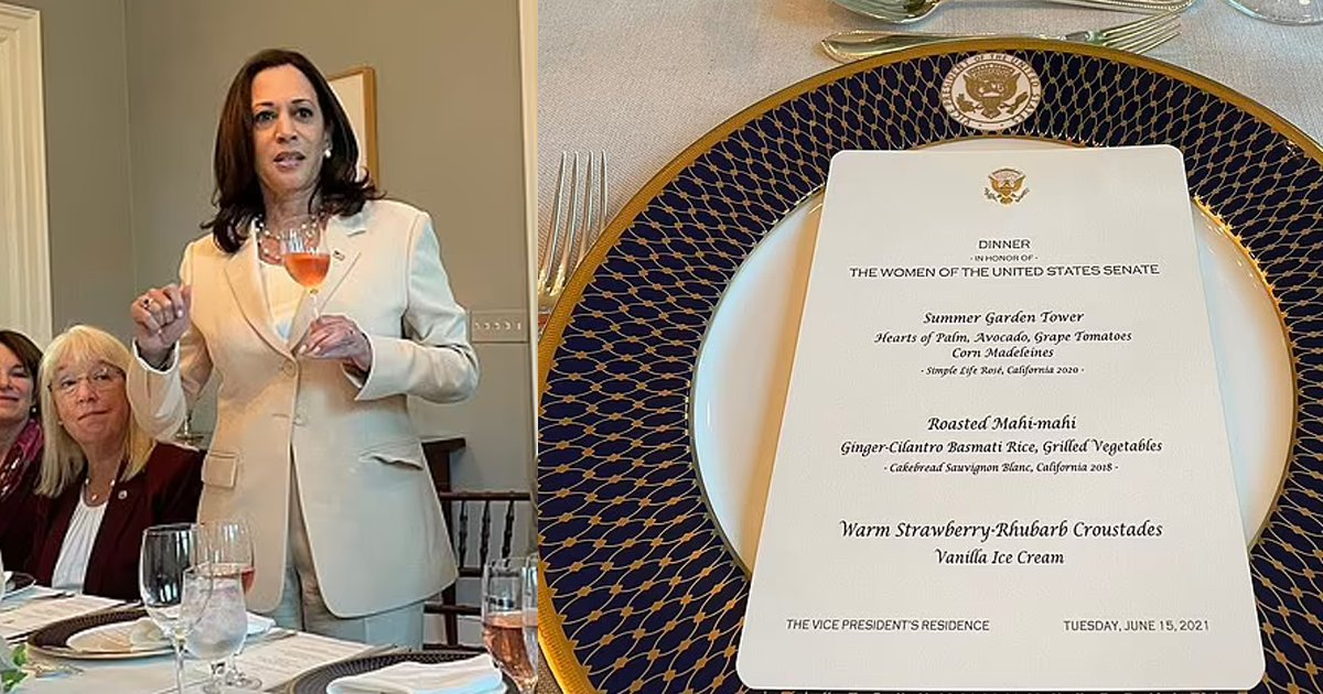 harris.png?resize=1200,630 - VP Kamala Harris Tries To FORGET Responsibility Of Border Crisis And Disastrous Central American Tour By Having Dinner For Her Female Senators