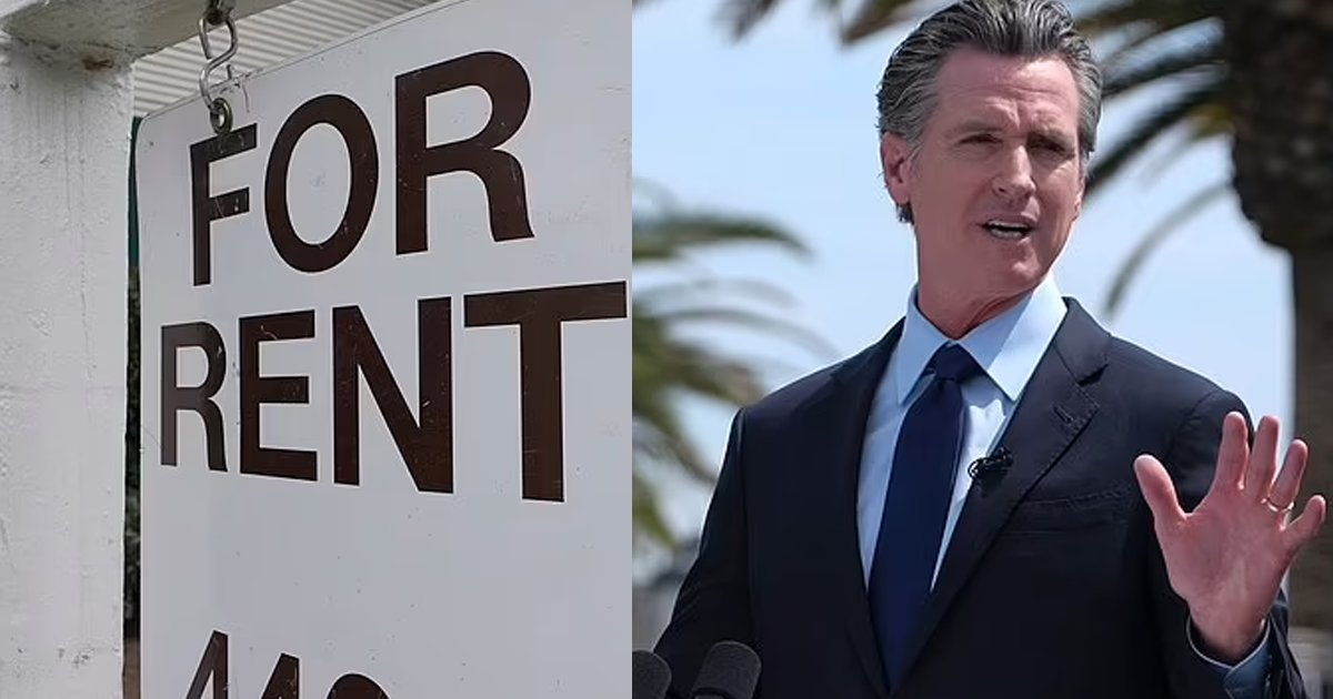 newsom.png?resize=412,275 - Governor Newsom Declares That California Will Pay Off ALL Unpaid Rent For Lower Income Households That Have Been Affected By The Pandemic