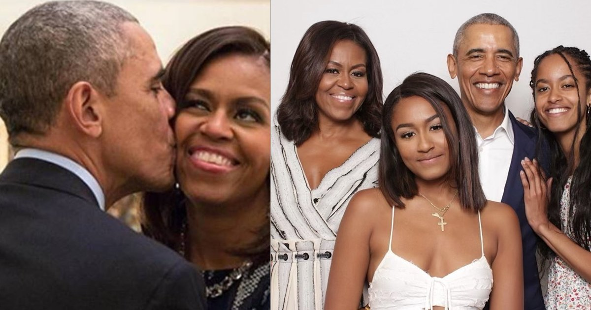 """obama 4.png?resize=412,232 - Michelle Obama Acknowledges The """"Only And Only"""" Barack Obama On Fathers' Day"""