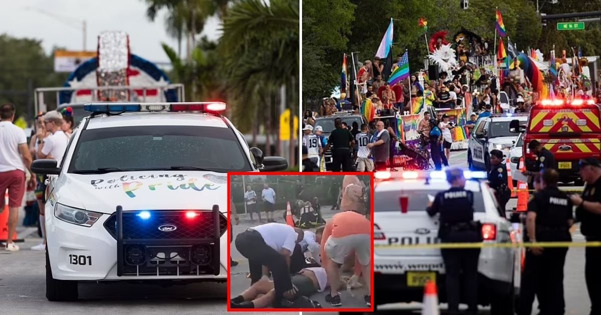parade5.jpg?resize=574,582 - Driver Runs Over LGBT People During A Pride Parade, Leaving One Person Dead And Another In Critical Condition