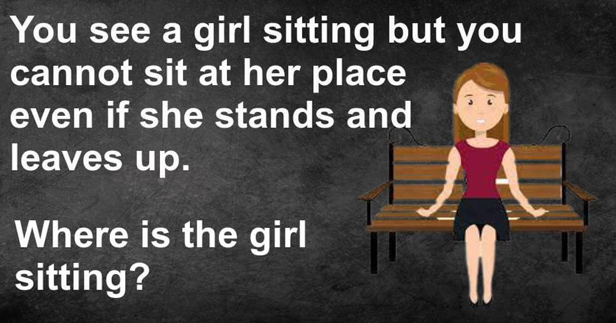 q2 16.jpg?resize=412,232 - Can You Figure Out Where Is The Girl Sitting In This Tricky Riddle?