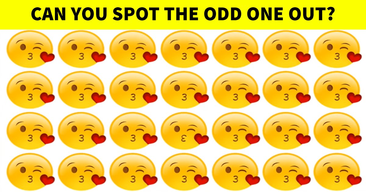 q4.jpg?resize=1200,630 - Can You Spot The 'Odd' Emoji Out Immediately?