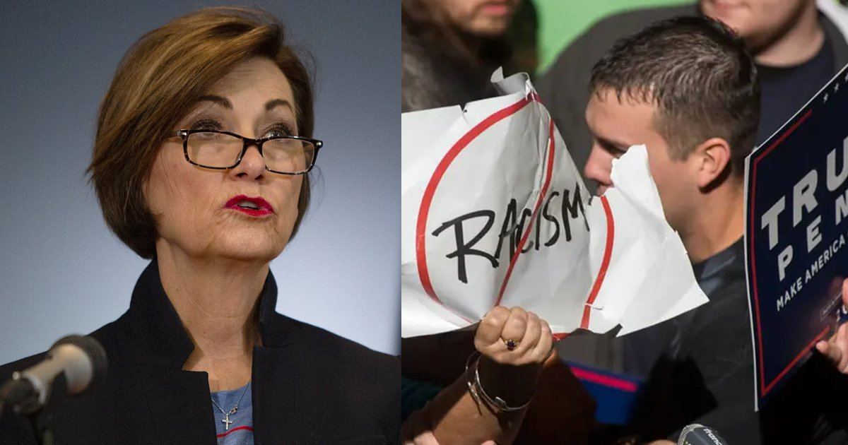 racism.png?resize=412,275 - Iowa Governor Signs A Law That INCREASES Penalties For Crimes Related To Protests And Riots