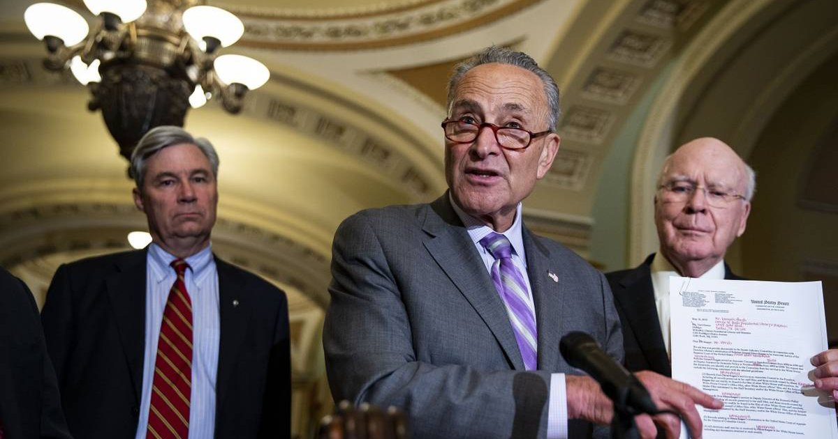 schumer.png?resize=412,232 - Chuck Schumer, Senate Majority Leader, Refers To Mentally-Disabled Homeless Children As R*tarded On His Podcast