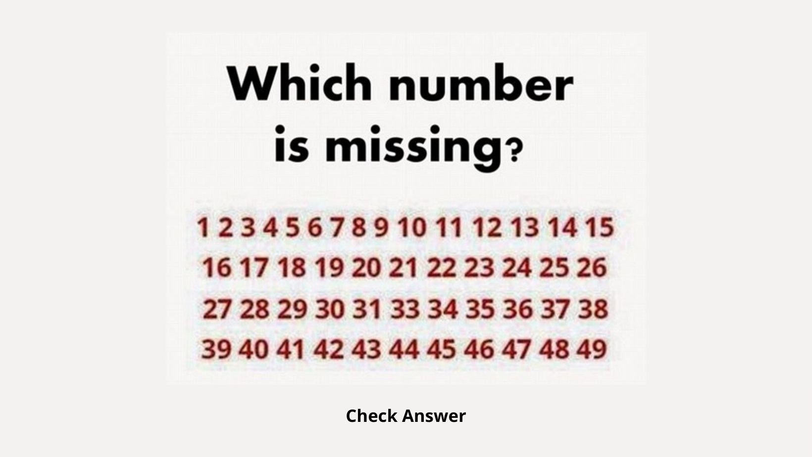 small joys thumbnail 1 12.jpg?resize=412,232 - Can You Determine The Missing Number In Less Than 20 Seconds?