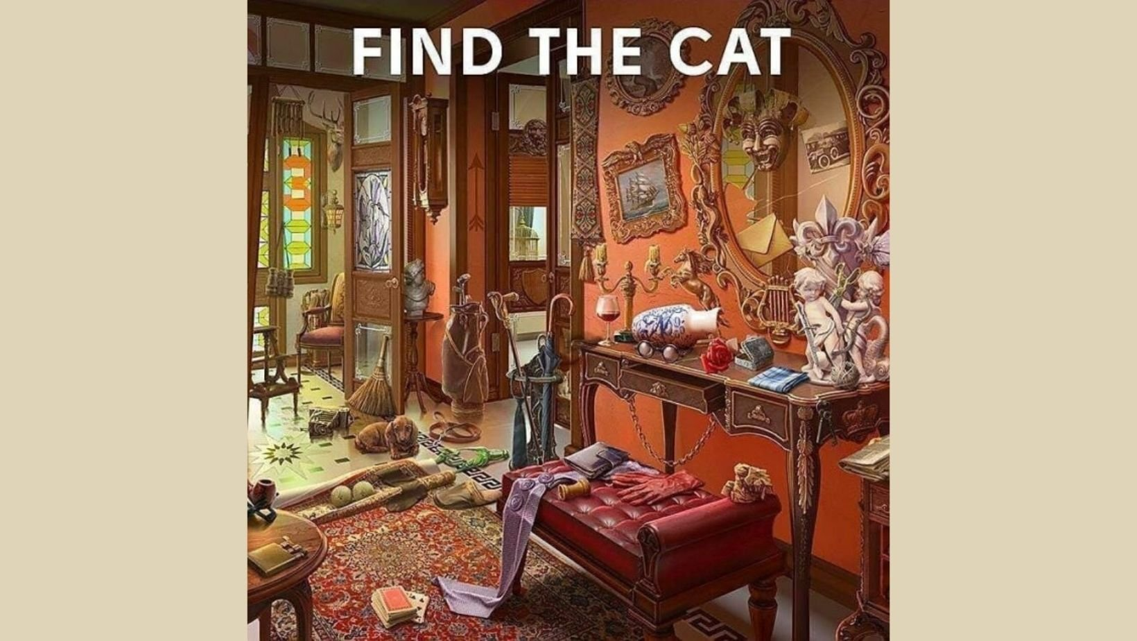 small joys thumbnail 21.jpg?resize=412,232 - There Is A Sneaky Cat Hiding In This Photo, Can You Find It?