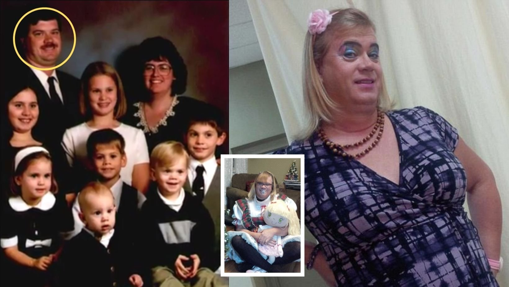 small joys thumbnail 5.jpg?resize=1200,630 - Man Left His Family For Good To Live As A Transgender 6 Year Old Girl