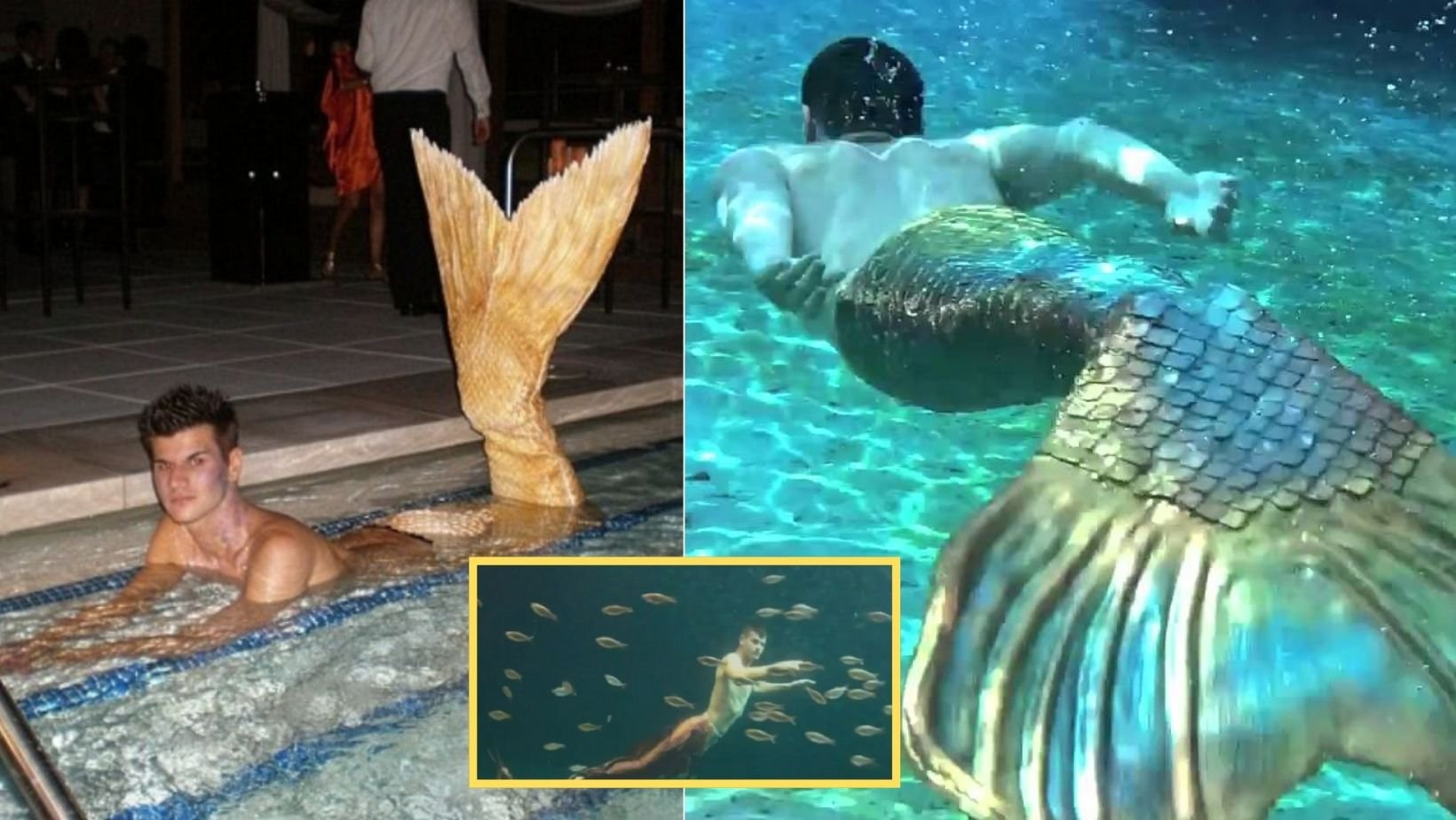 small joys thumbnail 9.jpg?resize=1200,630 - Man Wears Mermaid Tail & Regularly Swims With It Even If Onlookers Always Tells Him That Mermaids Are For 'Girls' Only