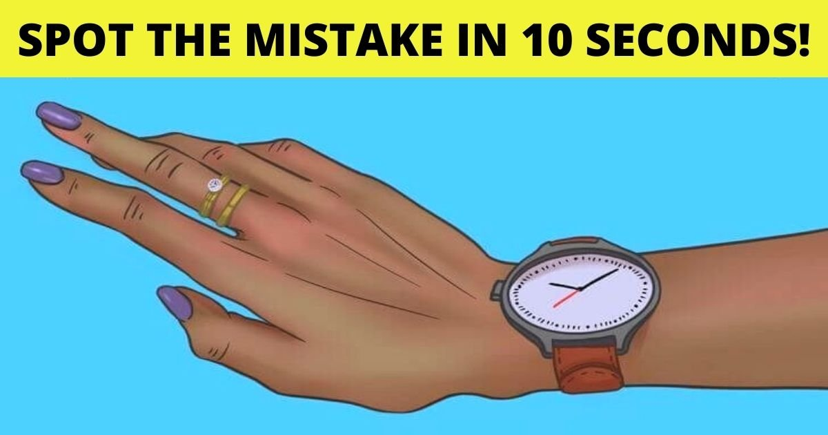 spot the mistake in 10 seconds.jpg?resize=1200,630 - 90% Of Viewers Couldn't Spot The Mistake In 10 Seconds! But Can You?