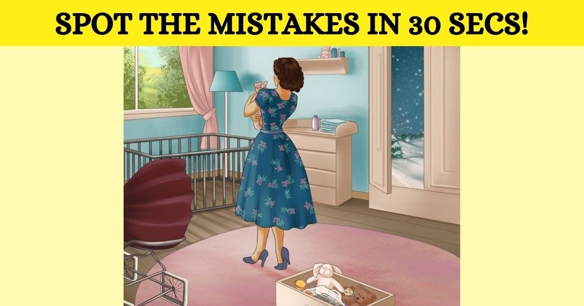 spot the mistakes in 30 secs.jpg?resize=1200,630 - How Fast Can You Spot The Mistakes In This Picture? 99% Of People Can't Find Them All!