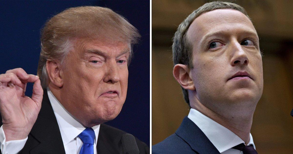 t2 31.jpg?resize=412,232 - Trump Vows REVENGE On Facebook's Zuckerberg After Returning 'Back To White House'