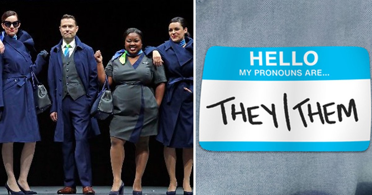 t2 33.jpg?resize=1200,630 - Alaska Airlines' New Uniform Policy Accused Of 'Gender Bias' By Non-Binary Employee