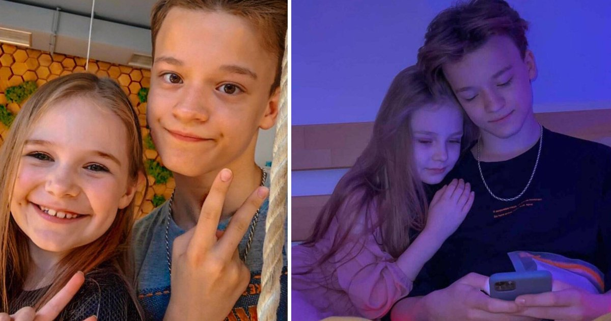 t5 38.jpg?resize=1200,630 - Outrage As 8-Year-Old Child Model MARRIES & Moves In With 13-Year-Old Boyfriend