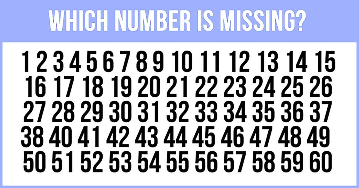 t6 49.jpg?resize=412,232 - Can You Find The Missing Number In This Tricky Puzzle?