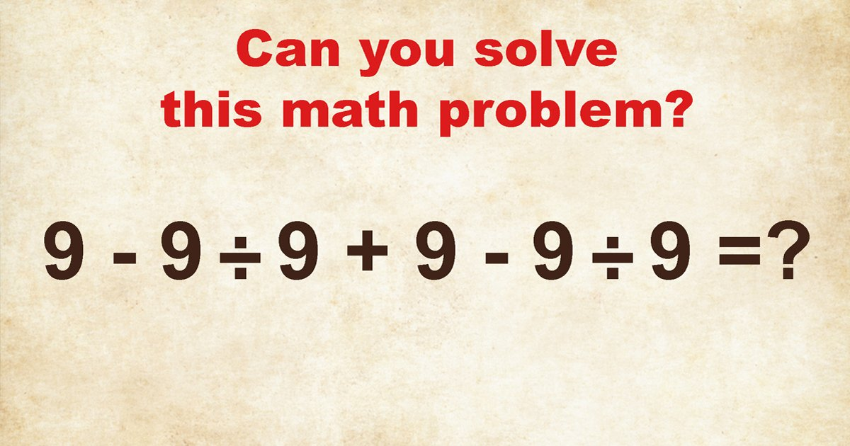 t7 27.jpg?resize=412,232 - 90% Of Viewers Couldn't Answer This Basic Math Test! But Can You?