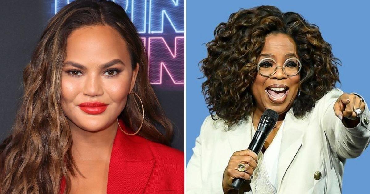 teigen4.jpg?resize=412,232 - Chrissy Teigen 'Wants Meghan Markle-Style Oprah Interview To Salvage Her Reputation' Amid Controversy