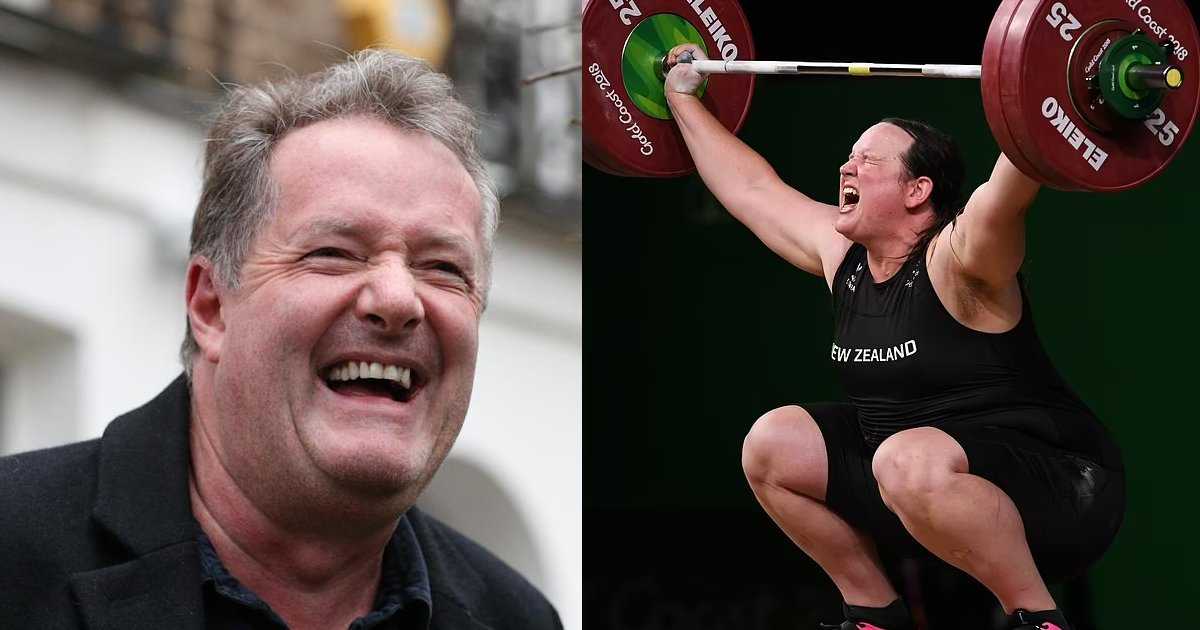 """trans.png?resize=412,275 - Transgender Weightlifters In The Tokyo Olympics Are A """"Terrible Mistake That DESTROYS Women's Rights To Equality"""" Says Piers Morgan"""