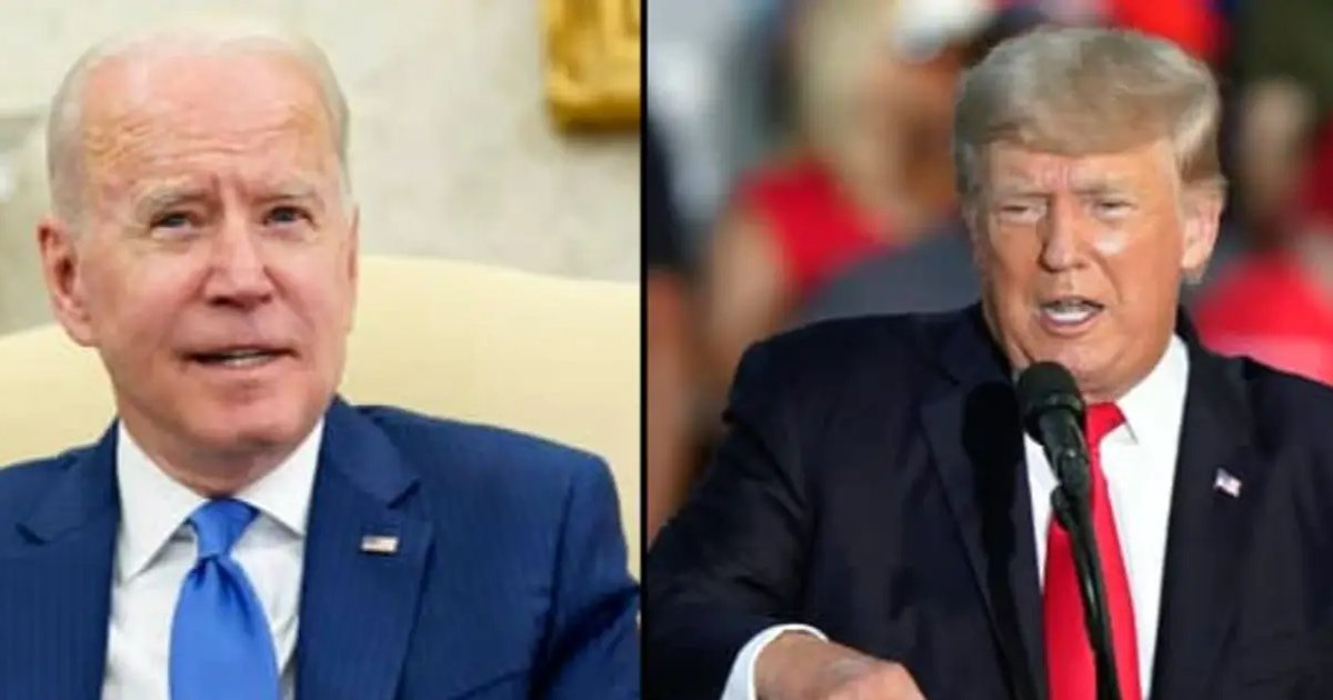 """trump 12.png?resize=1200,630 - Donald Trump Criticizes Biden's Presidency And Calls It A """"Complete And Total Catastrophe"""""""