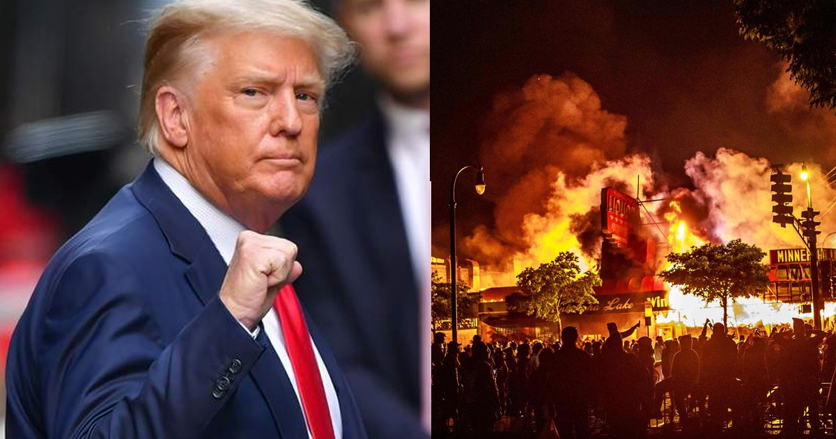 """trump 8.png?resize=412,275 - """"They All Hate Me"""" Trump Rants About """"The Blacks"""" Being Furious At His Response To George Floyd Riots"""