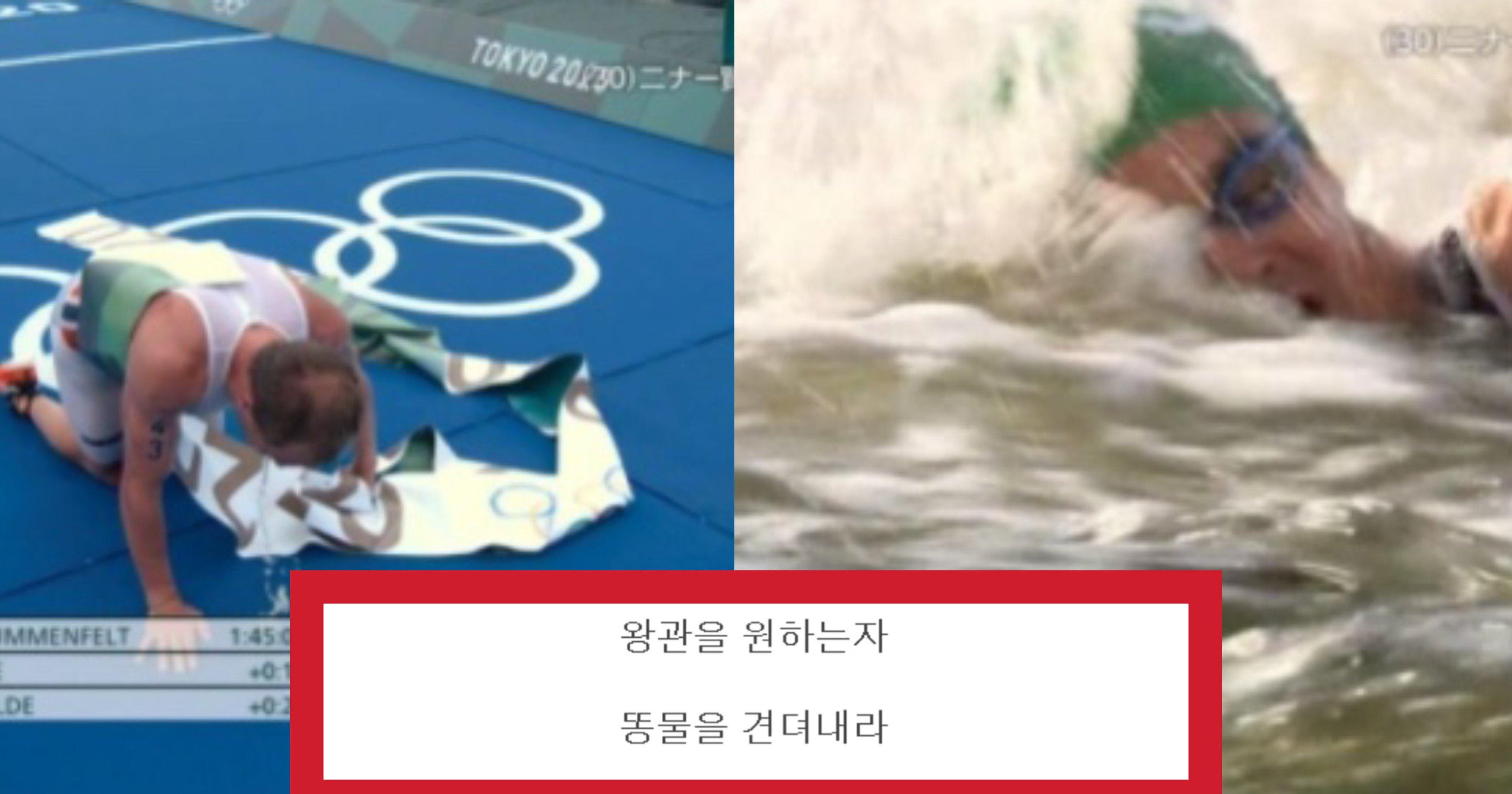 """0c5711df 89ba 45e7 9e51 77acd1543471.jpeg?resize=412,275 - """"선수들 토하고 장난아님"""" 라며 현재 누리꾼들 사이에서 난리 난 현재 도쿄 올림픽 수영 경기 수준(+사진)"""