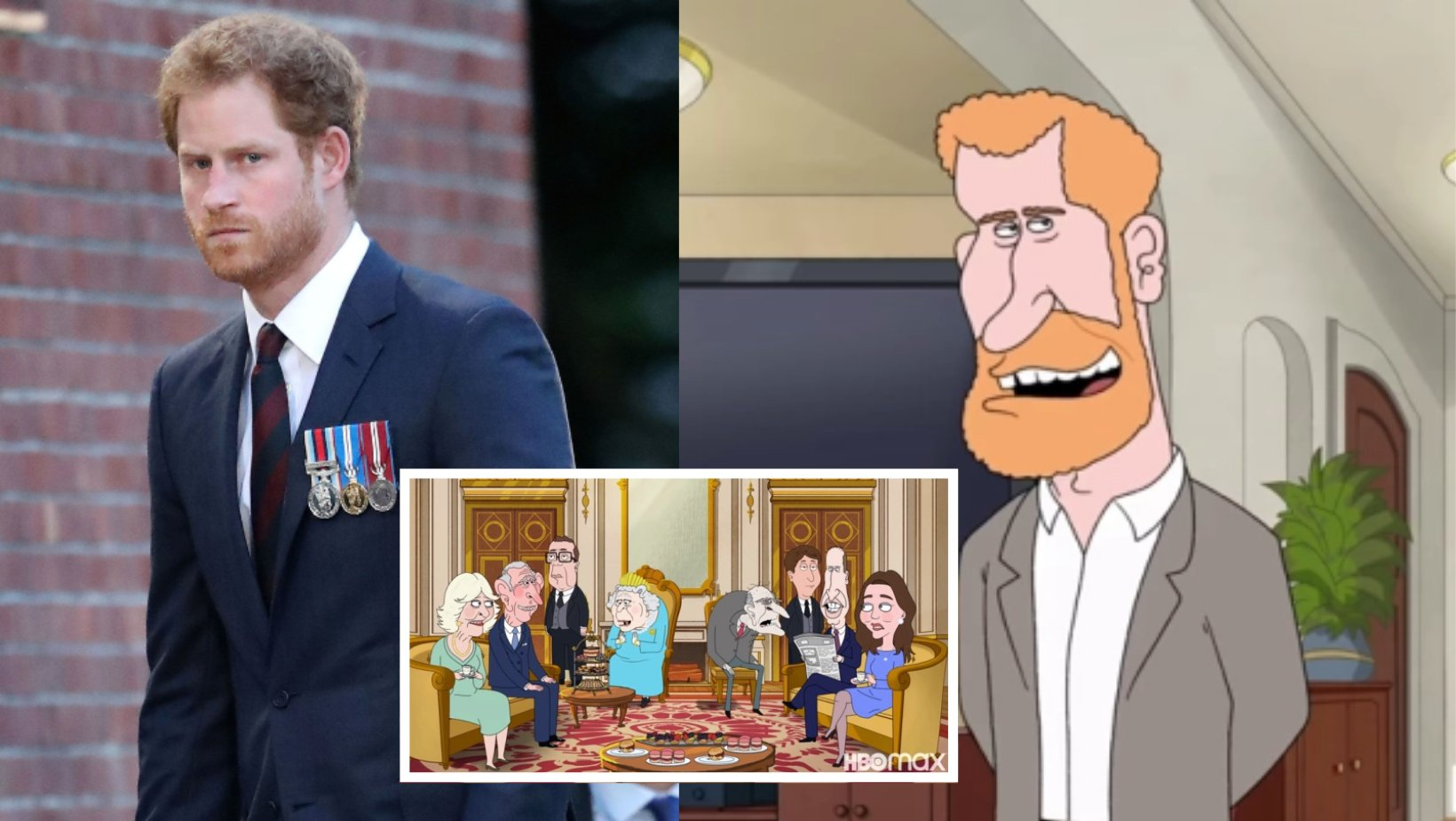 1 2.png?resize=412,232 - TV Cartoon Hilariously Mocks Prince Harry & The Royal Family, Featuring Scenes That Will Certainly Make You Laugh In Tears