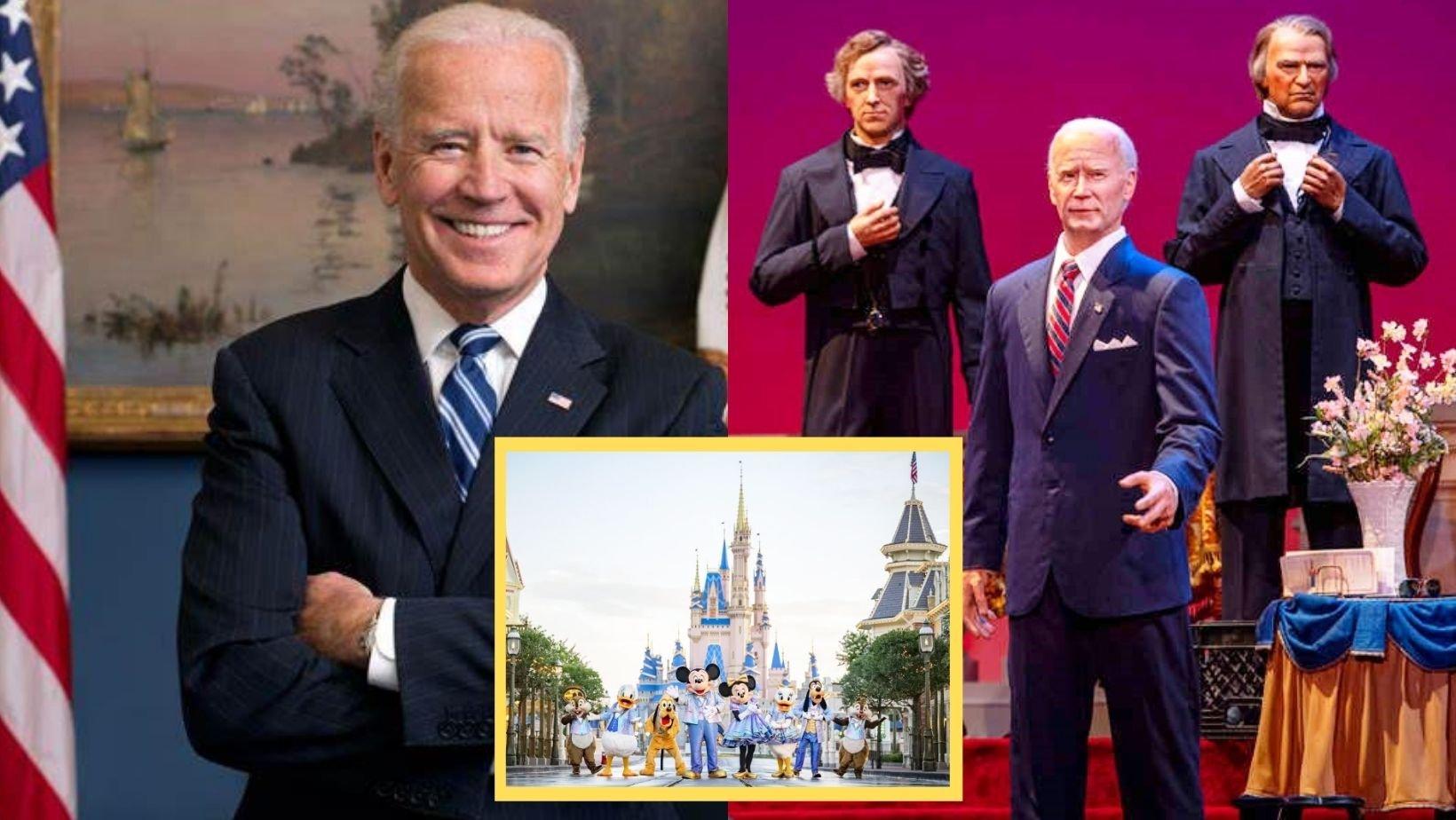 1 73.jpg?resize=1200,630 - A VERY 'REALISTIC' Joe Biden Robot Will Be Installed In Disney World's Hall Of Presidents