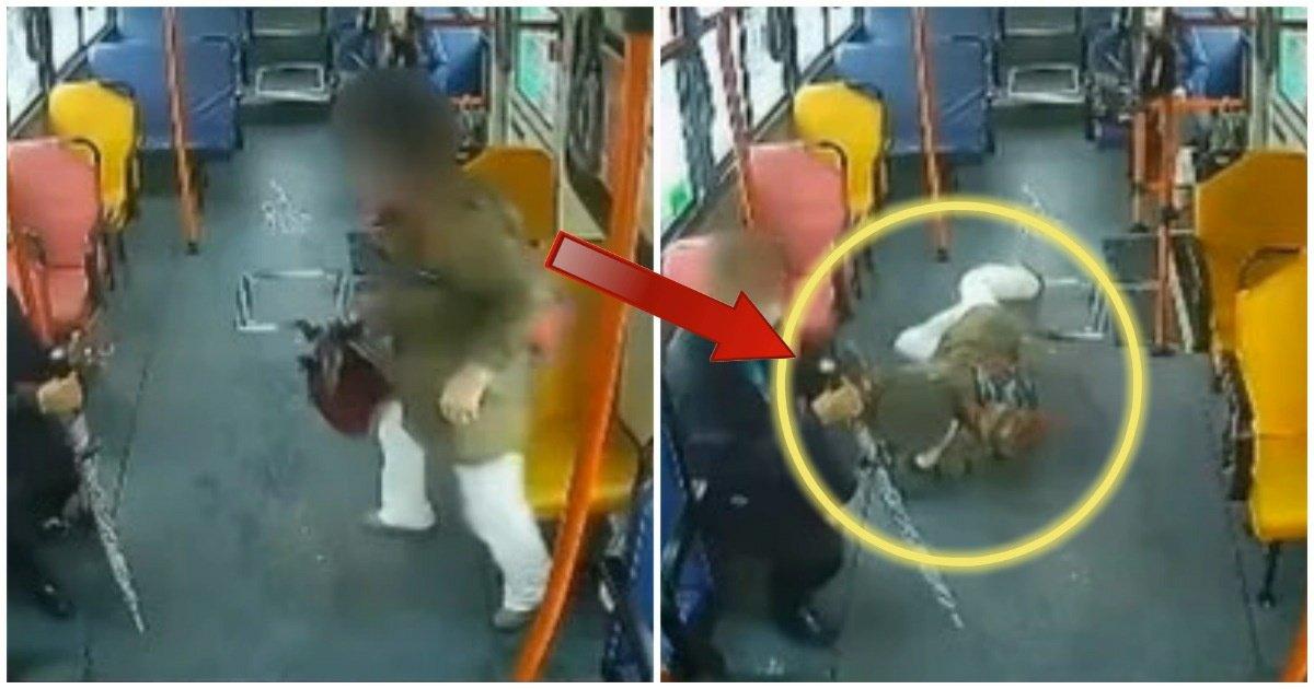 """10 2.jpg?resize=412,275 - 버스기사 """"혼자 넘어진 승객이 전부 '제 탓'이라며 경찰에 신고했는데, 제 잘못인가요?""""(영상)"""