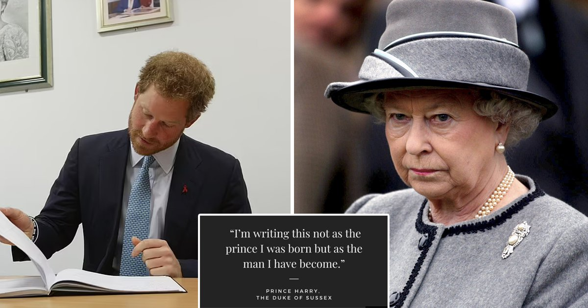"""3 52.jpg?resize=1200,630 - """"I Don't Need The Queen's Permission To Write""""- Prince Harry's Striking Declaration On Memoir"""