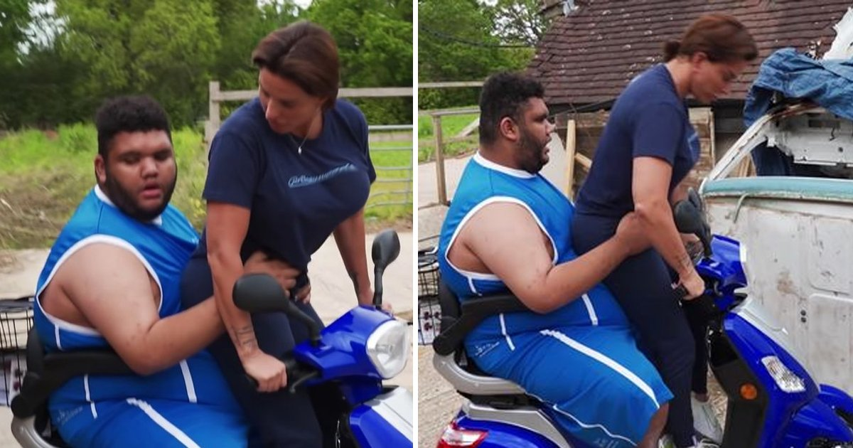 5 41.jpg?resize=1200,630 - Katie Price's Son Harvey Caught Swearing As He Nearly Crashes New Mobility Scooter