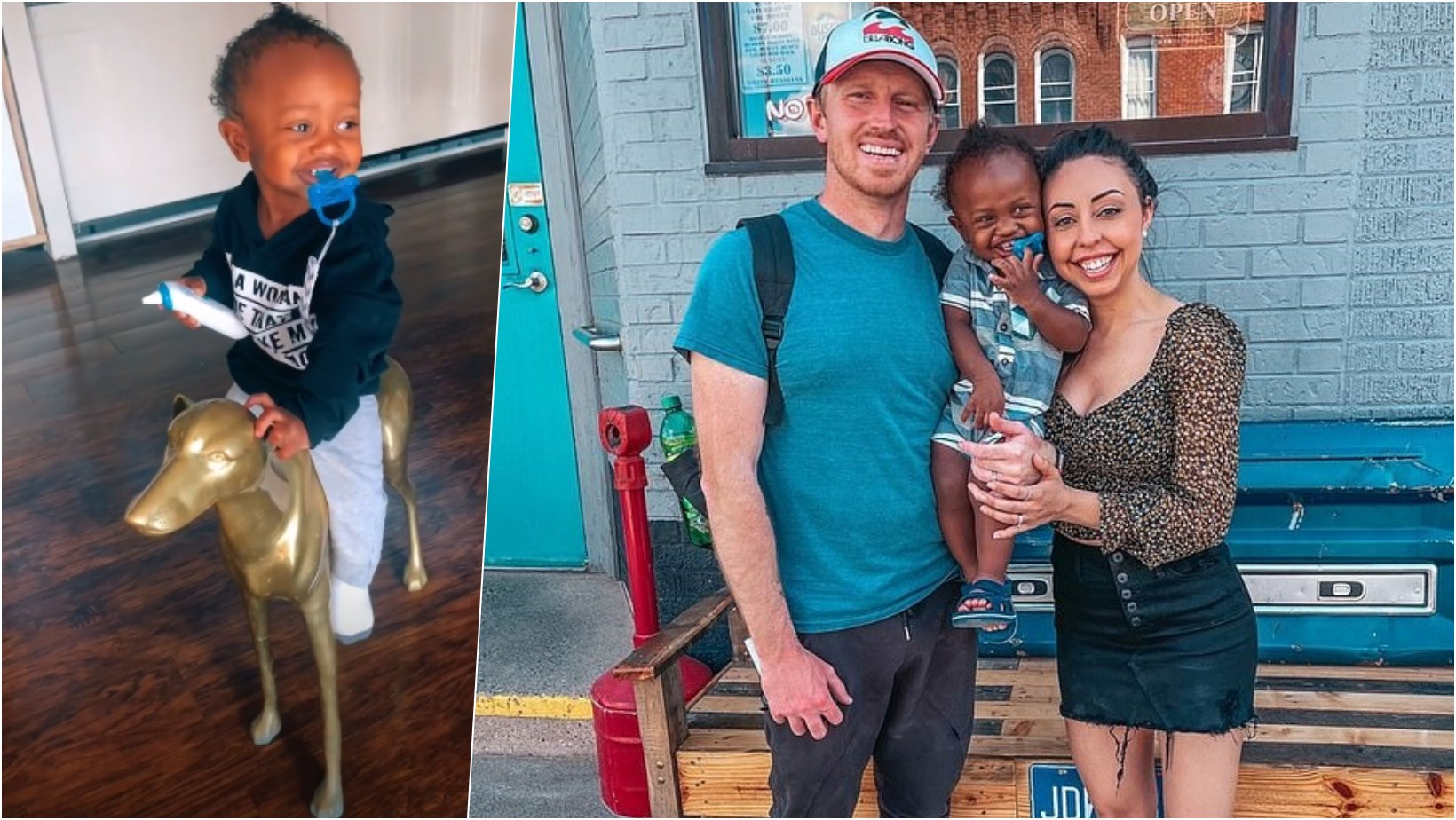 6 facebook cover.png?resize=1200,630 - Couple Claps Back At Critics Who Claim They Can't Take Care Of Their Adopted Baby's Hair Or Teach Him About Police Profiling